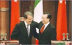 Prodi in Cina