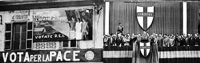 vota per la pace, vota comunista o DC