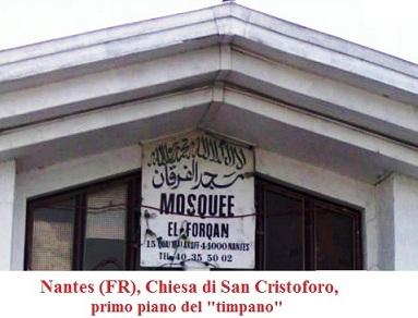 Moschea di Nantes, ex Chiesa tetto