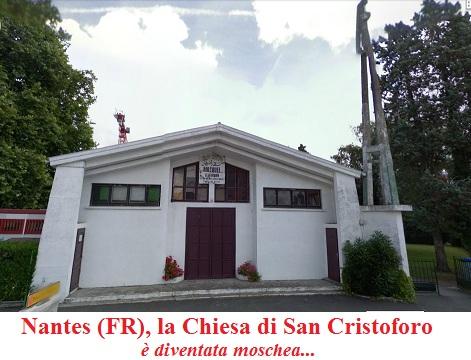 Moschea di Nantes, ex Chiesa