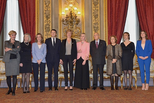 le donne di Renzi
