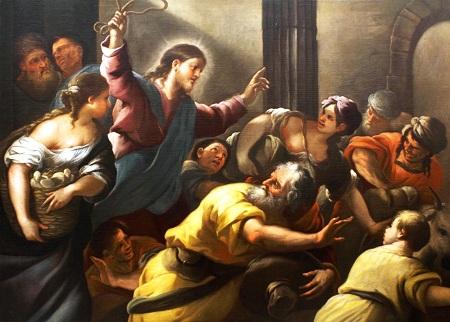 Gesù caccia i mercanti dal Tempio2