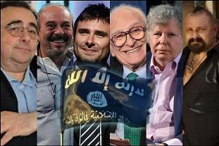 DiBattista,Pannella,Vauro,Massimo Fini,Giannulli e 99Posse per il dialogo col Is