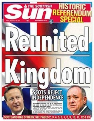 Scozia, Regno Riunito