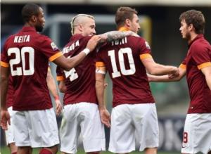 Giocatori Roma, XXIV giornata di Campionato 2015
