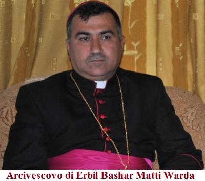 L'Arcivescovo di Erbil implora una crociata contro l'Isis