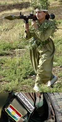 Le femministe, più forti delle peshmarga curde