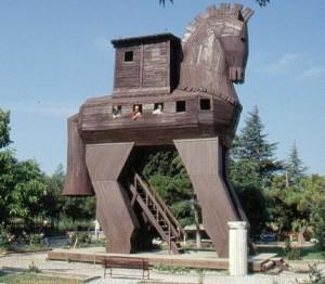Turchia, cavallo di Troia