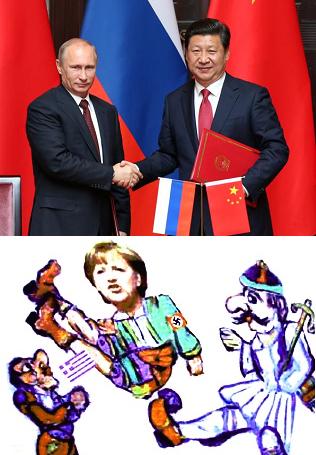 russia e cina miliardi alla grecia