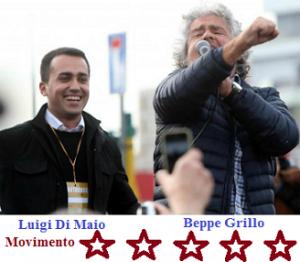 Beppe Grillo-Di Maio