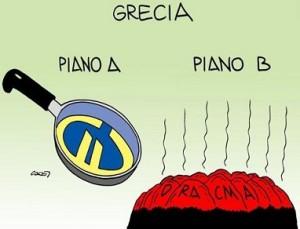 vignetta-header-sfondo-grecia, dalla padella euro alla brace dracma