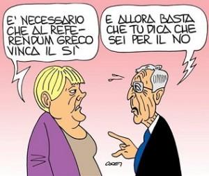 vignetta-header-sfondo-merkel dici no se vuoi si referendum grecia
