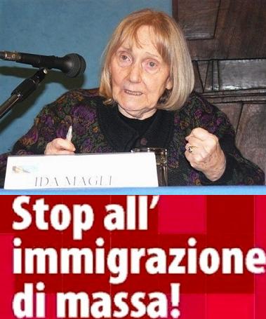Ida Magli-stop immigrazione