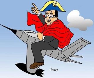 vignetta-header-sfondo-hollande napoleone a cavallo di un cacciabombariere