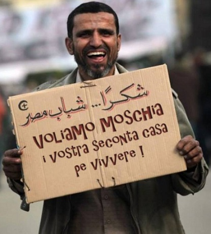 moschea e seconde case requisite per migranti