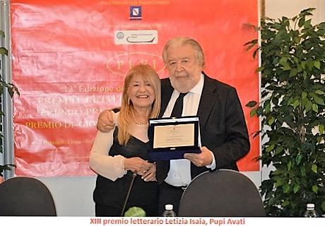 premio Letizia Isaia 2015 con Pupi Avati
