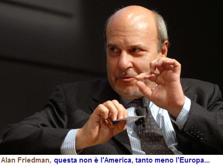 Obama un incompetente; Salvini non fa paura; con Putin e Trump sarà pace nel mondo; coi Trattati europei pulirsi il sedere, tutto il Friedman che non t'aspetti…