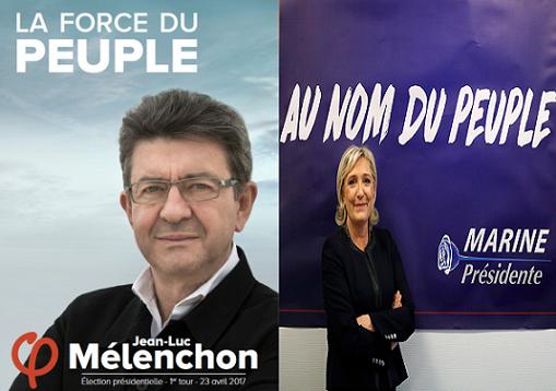 Contro Macron, la possibile alleanza anticapitalista nelle urne Le Pen-Melenchon