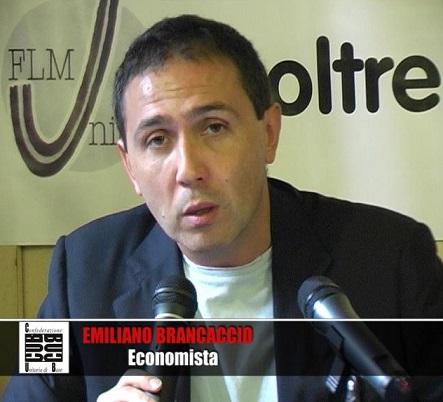 Emiliano Brancaccio, uscita forzosa dall'euro a seguito di brutali crisi bancarie