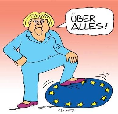In Europa comando io, la Merkel non ci sta che la Cina aiuti la Grecia
