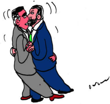 Pentaleghismo, PD e Forza Italia reggeranno il moccolo alle corna di Salvini con Di Maio