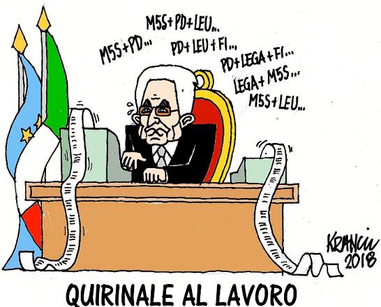 Non si vota, quello di Mattarella sarà un Governo tampone