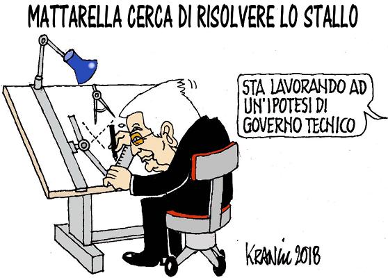Mattarella non vuole scaricare B, pensa ad un Governo smart