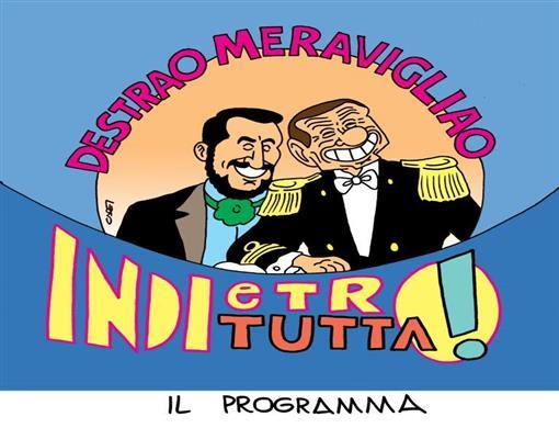 da Forza Italia a Forza Nord, B deve puntare a sostituire Bossi nell'alleanza con la Lega