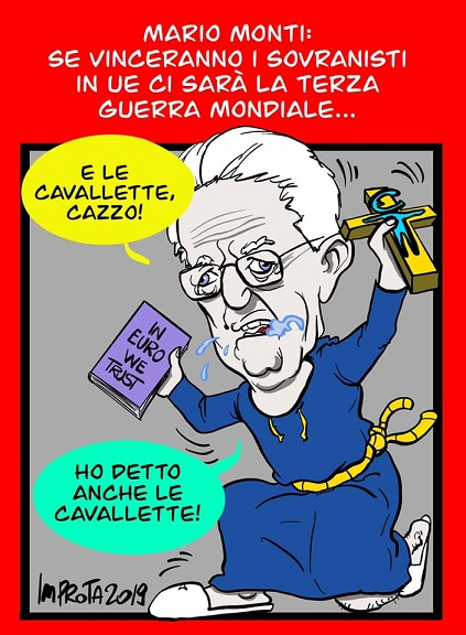 guerra e pace, più del rigore pensa Monti, potrà il terrore