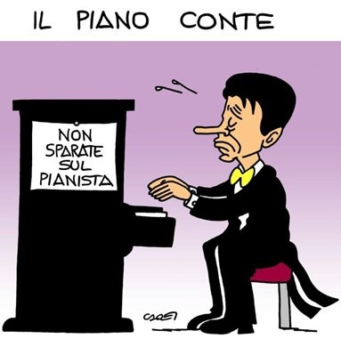 Nobel a Savona, Bagnai, Borghi e Tridico, o sarà Conte a giocarsi una scartina sottobanco