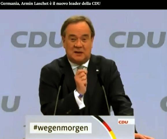 Lega e FdI già bannati dalla nuova CDU di Laschet
