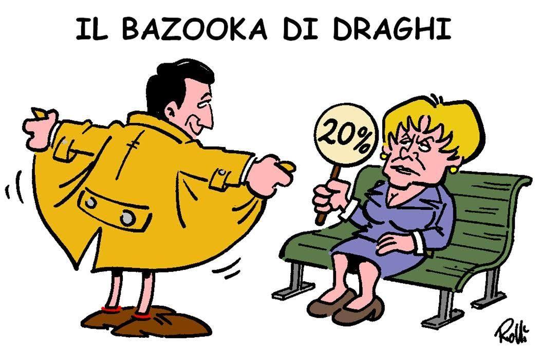vaccini, Draghi imbraccia il bazooka, la Ue lo disarma